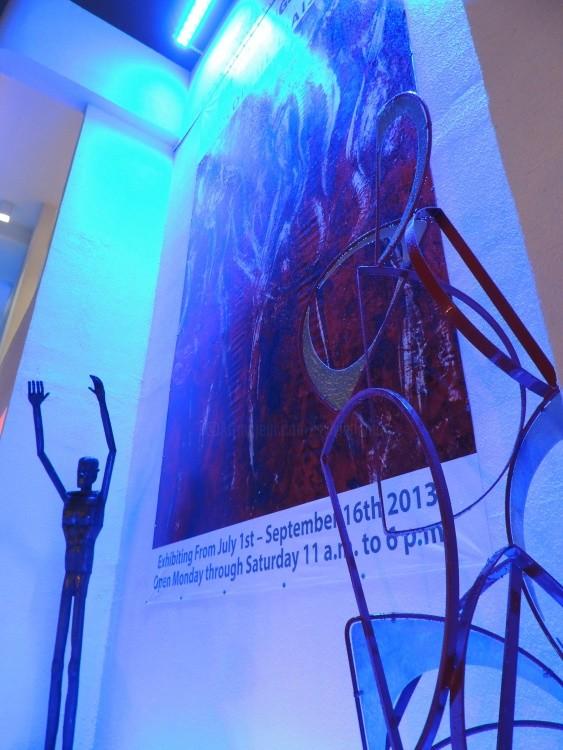 Sylvie Hamou - Art Fusion Galleries  - Colourful Liaisons art exhibition (July, August, Sept 2013)