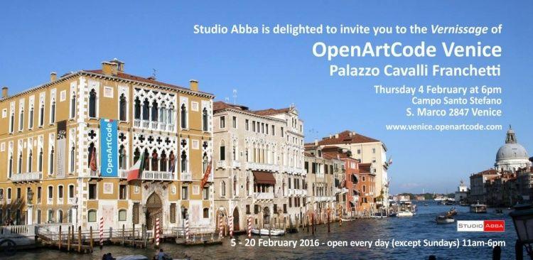 Open art code Art exhibition venice sylvie hamou contemporary art modern art exposition d'art